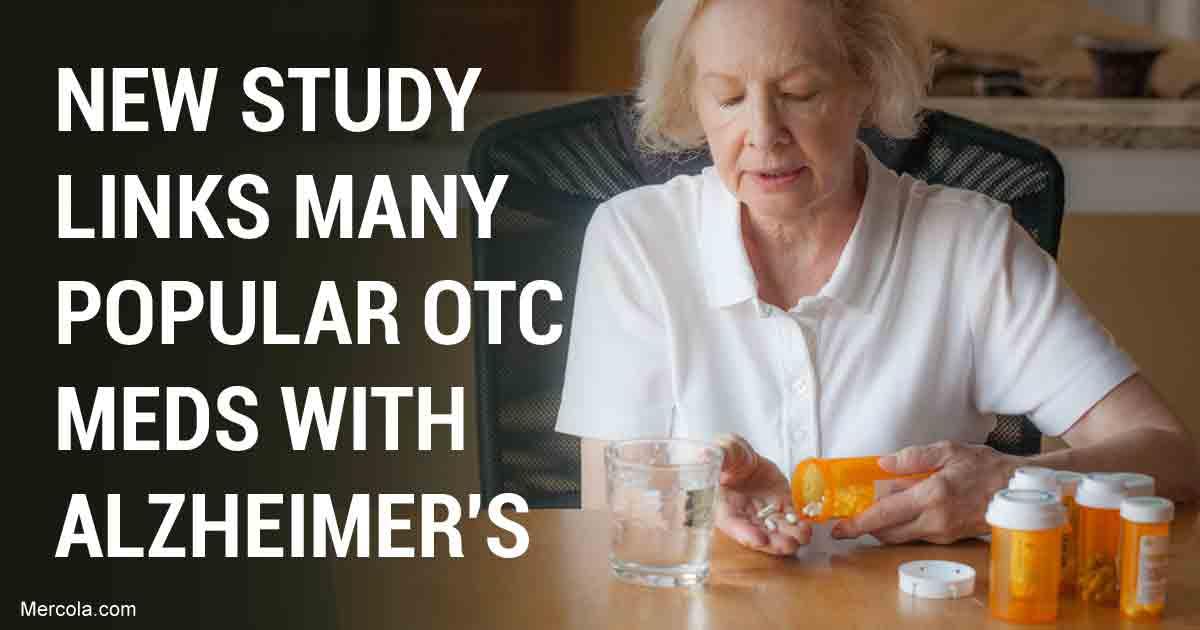 Common Otc Drugs Can Cause Dementia