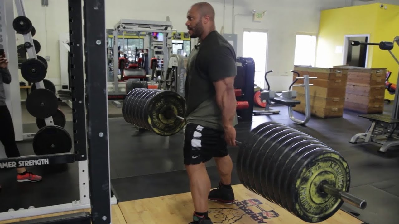 Watch: Phil Heath Shows How To Do Jefferson Squats – Generation Iron Fitness & Bodybuilding Network