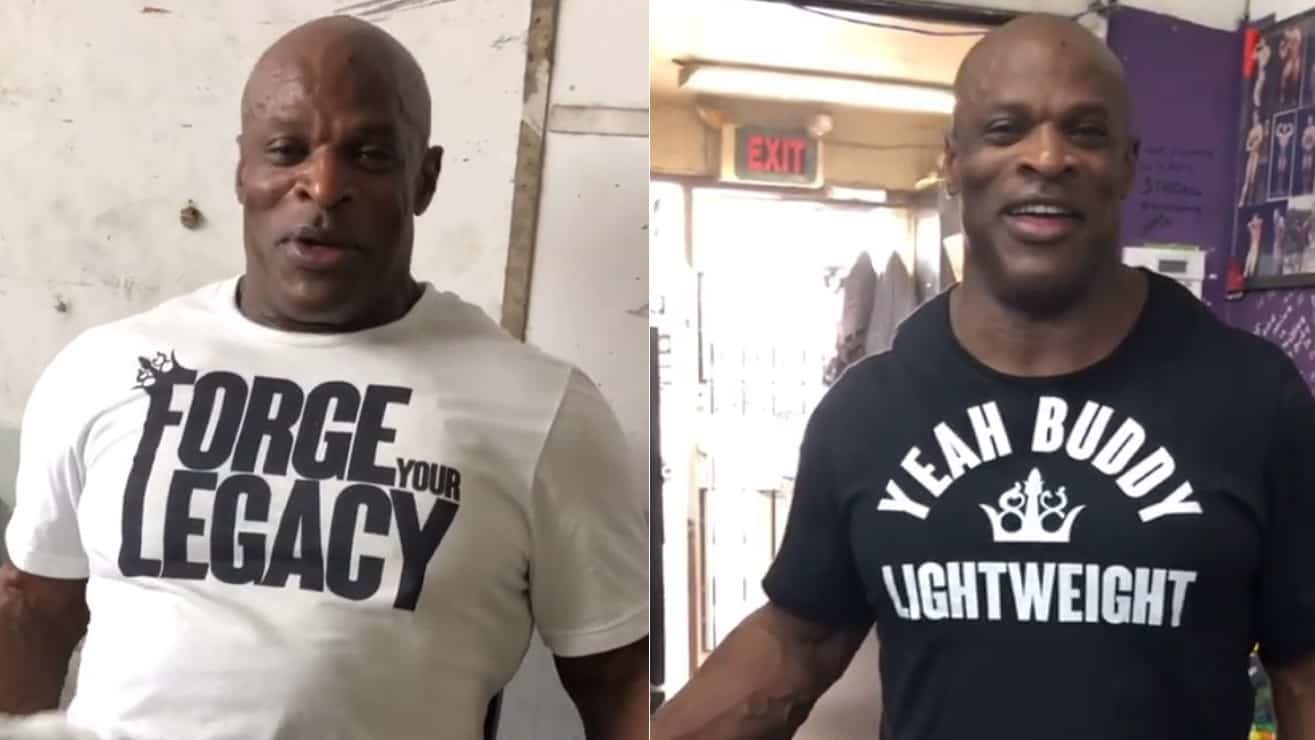 Ronnie Coleman Hits The Gym After Recent Surgery – Fitness Volt Bodybuilding & Fitness News