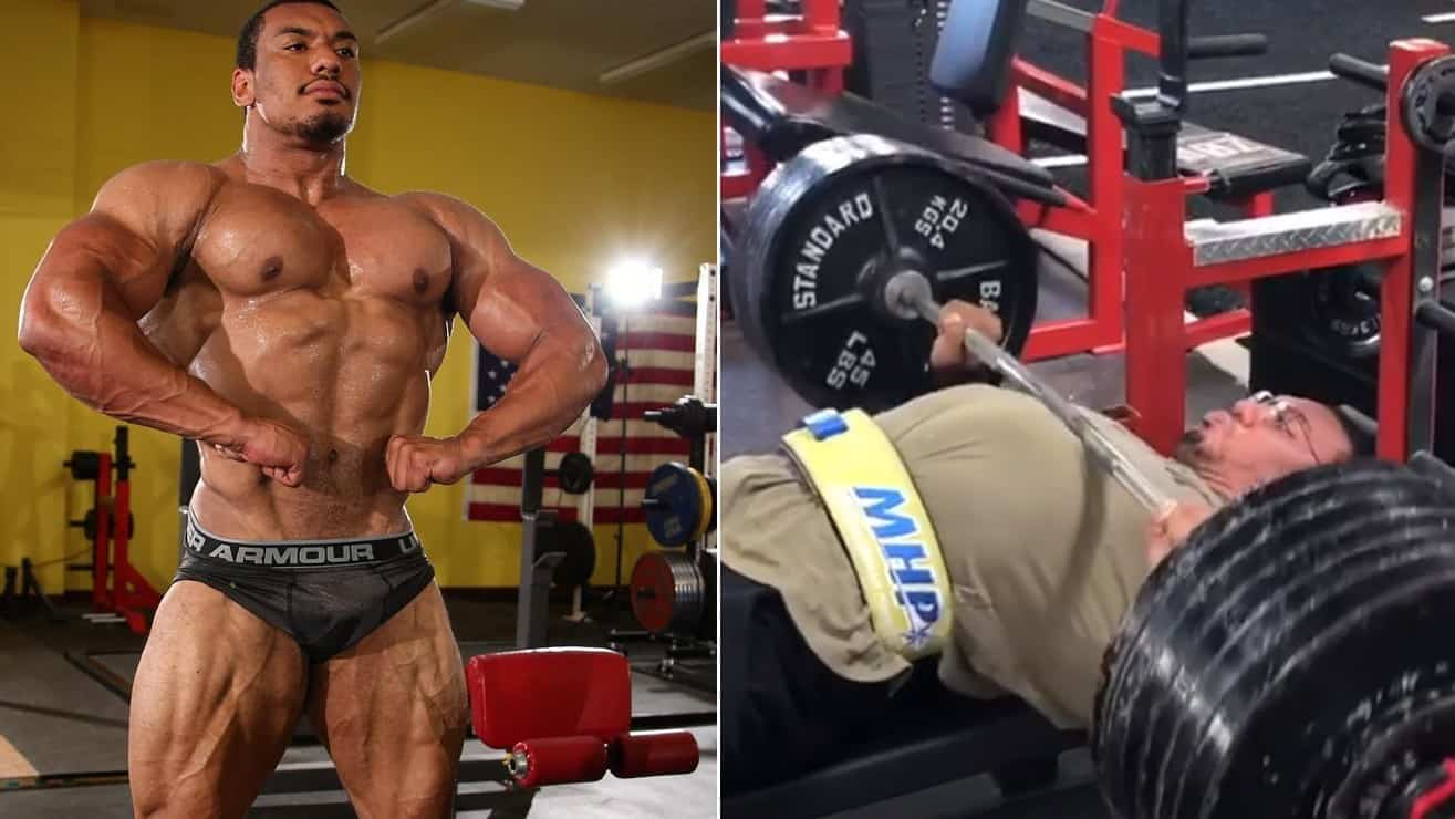Larry Wheels Lifted An Impressive 605 Lbs From Bench Press Three Times – Fitness Volt Bodybuilding & Fitness News
