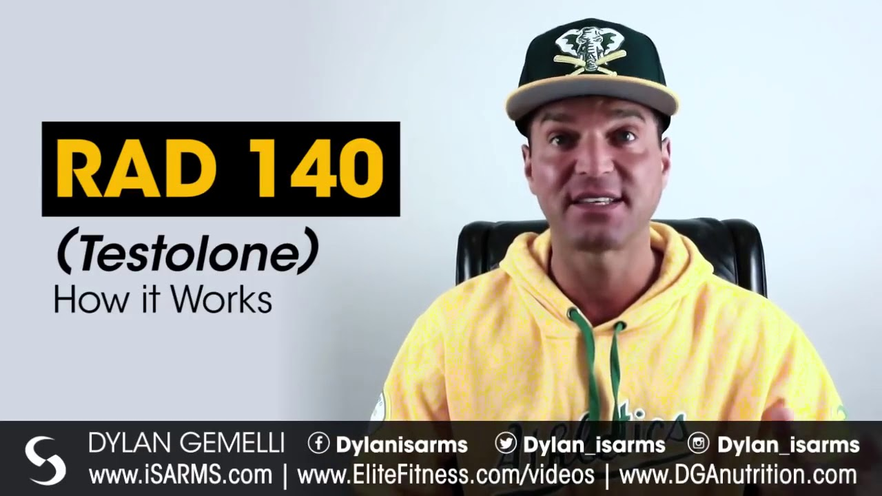 Rad 140 Explained  By Dylan Gemelli