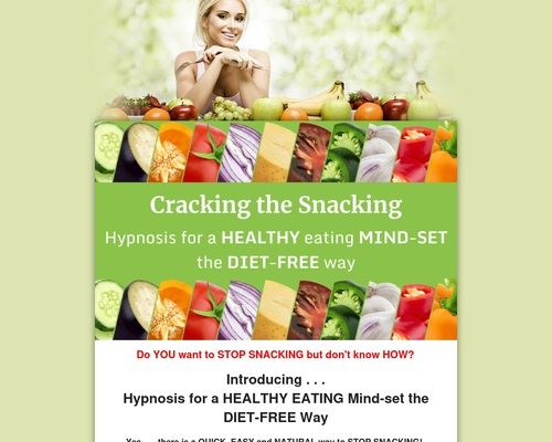 Cracking The Snacking: Hypnosis For A Healthy Eating Mind-set The Diet-free Way. | Qnewshub