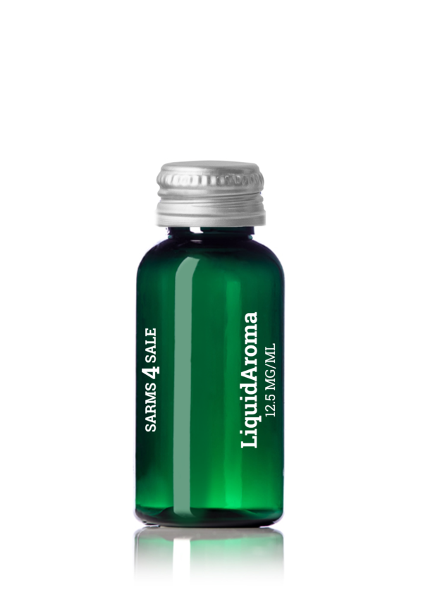 Green Bottle With Screwed Lid Liquidaroma