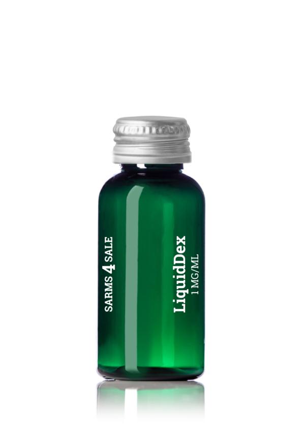 Green Bottle With Screwed Lid Liquiddex